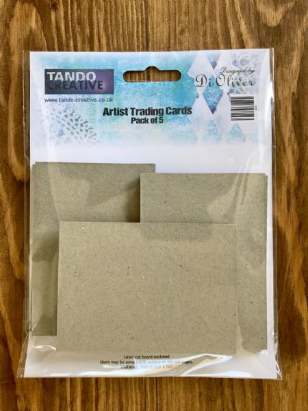 Tando Chipboard - Artists Trading Cards